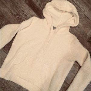 NWOT Chenille hoodie